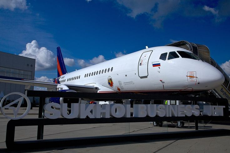 #Sukhoi #SSJ-100 #VIP #Superjet   Follow the link for more photos - http://shukalov.com/suxoj-ssj-100-vip/