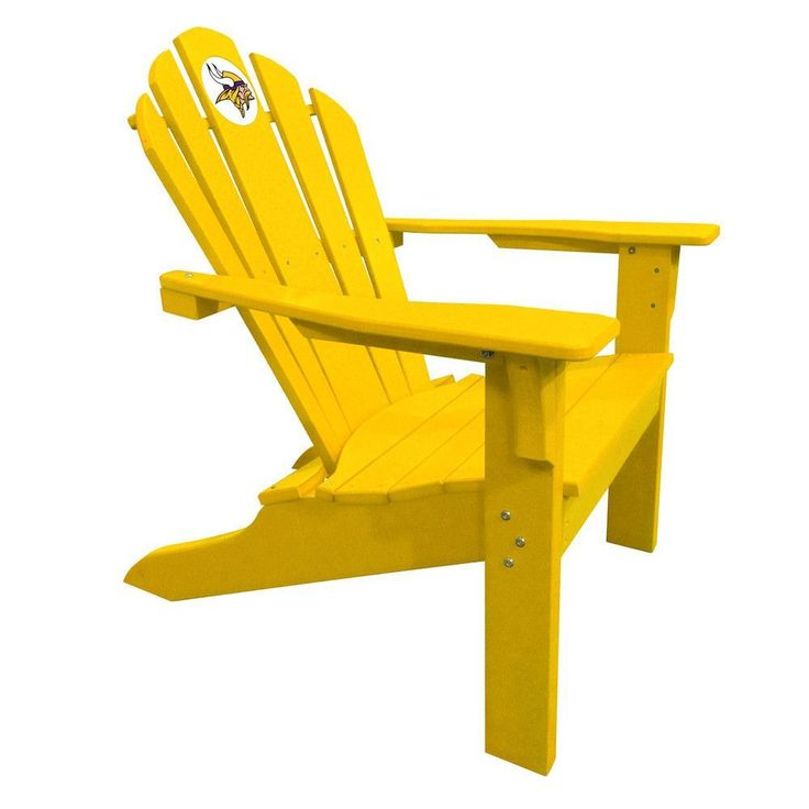 Minnesota Vikings Big Daddy Gold Composite Adirondack Deck Chair