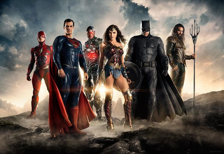 justice league movie 2017 cast Justice League: First Official Image Released