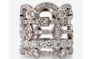 For diamonds, the future lies in a story  Diamonds with a Story, Shaped by Origin.  Stacking Royals Achievement Rings shellypurdy.com