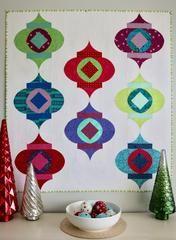 Mod Ornament, Free Quilt Pattern – Sew Kind of Wonderful