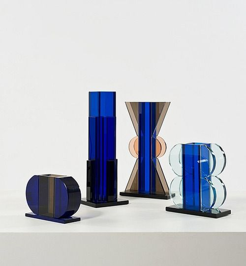 design-is-fine:  Ettore Sottsass, vases, 1979. Source