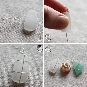 shine on: Guest blog post :Amy Cornwell Designs -shell/sea glass pendant tutorial