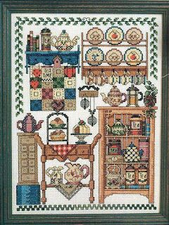 MÁS PUNTO DE CRUZ: country, site has many cross stitch patterns with charts.