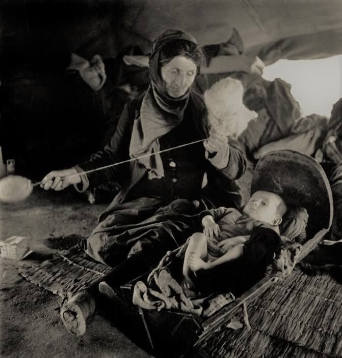 David Seymour Γιάννινα καταυλίσμός προσφύγων 1948
