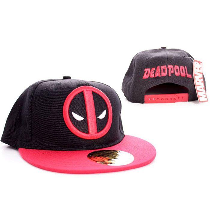 Marvel Deadpool snap back Cap