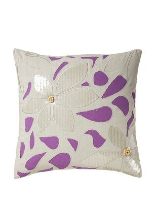 60% OFF Blissliving Home Mala Pillow, Orchid