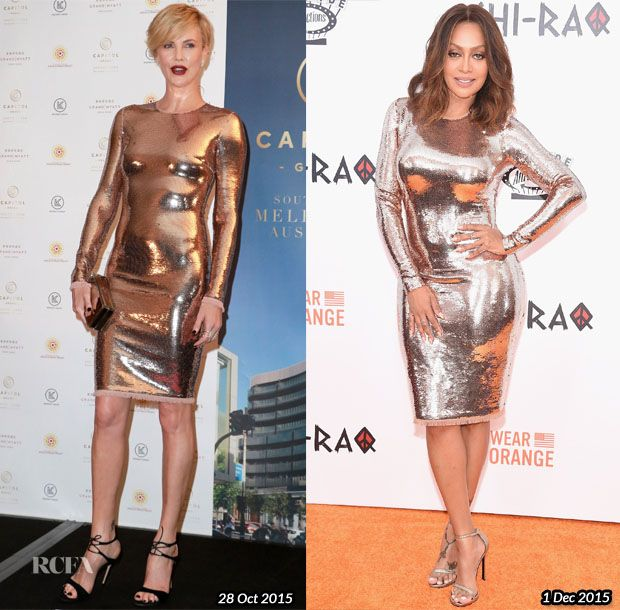 Who Wore Tom Ford Better…Charlize Theron or La La Anthony