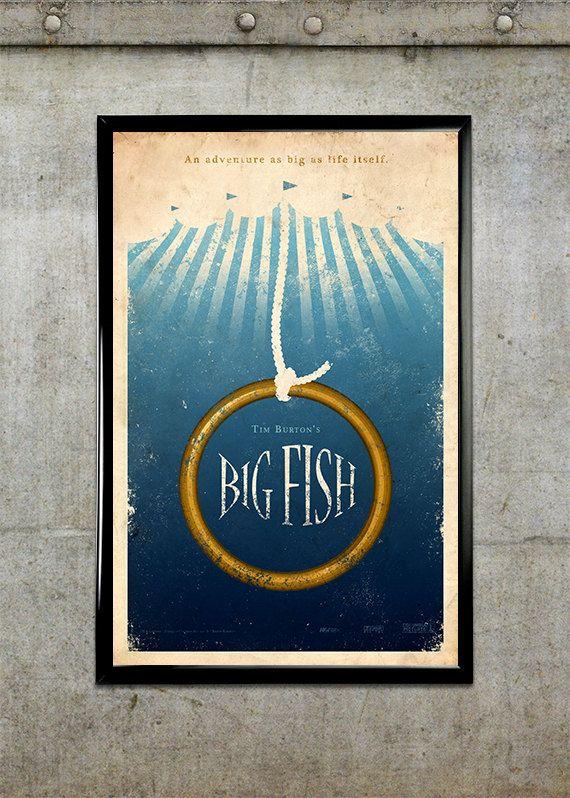 Big Fish Movie Poster $20