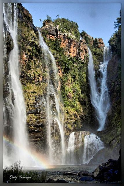Lisbon Falls, Mpumalanga, South Africa.I want to go see this place one day.Please check out my website thanks. www.photopix.co.nz