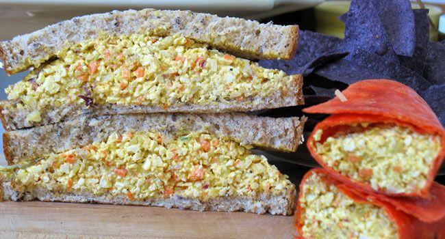 Organiser des pique-niques et potlucks & recette de sandwich aux faux-oeufs