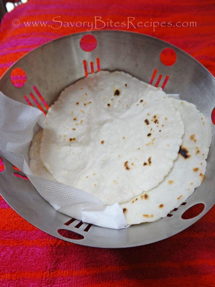 Rice Flour Bhakri / Tandlachi Bhakri / Rice Roti - Savory Bites