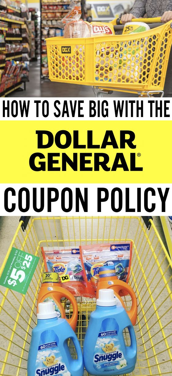 I didn't know they take coupons & that you can stack them too! Dollar General couponing