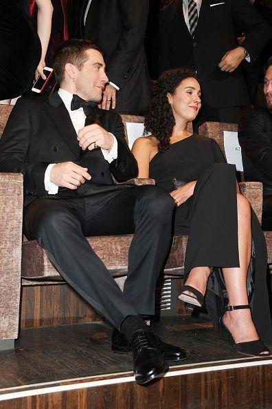Jake Gyllenhaal & Greta Caruso arriving at 'Nocturnal Animals' Venice Film Festival Premiere (September 2, 2016)