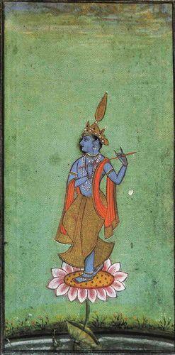 Shri Krishna as Venugopal, the divine flute player