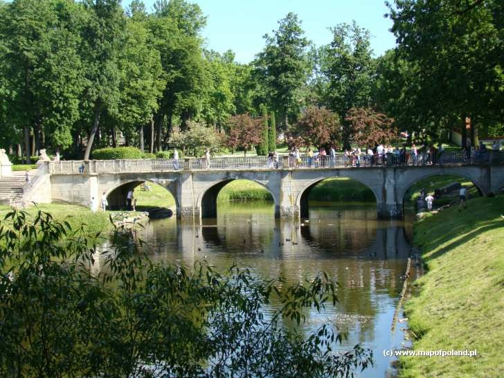 Park in Bialystok - Poland