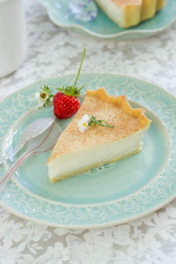 Milk tart  foodandcook.net