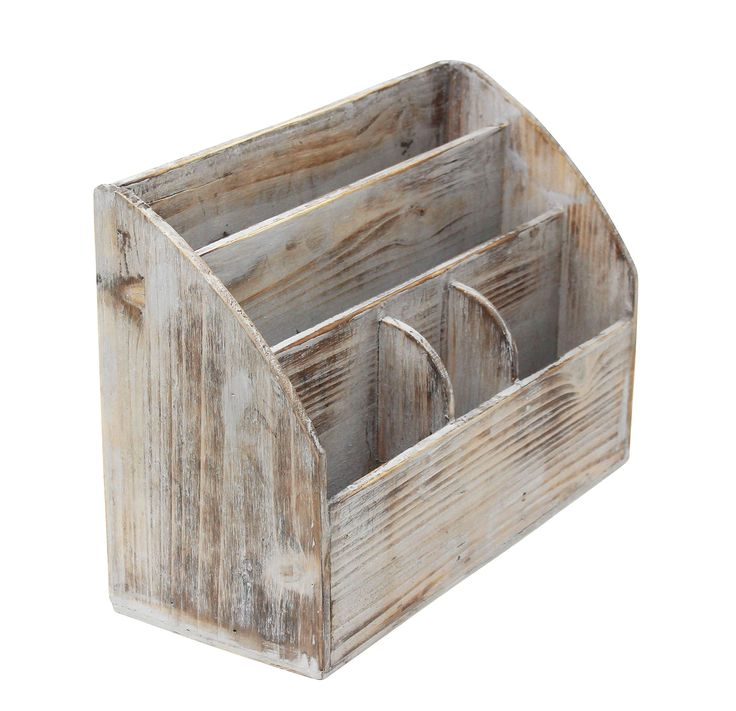 The 25 best rustic desk accessories ideas on pinterest business vintage rustic wooden office desk organizer mail rack for desktop tabletop or counter gumiabroncs Images