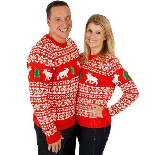Matching Family Holiday Christmas Sweaters. Here are matching family holiday Christmas sweaters! Do you and your family enjoy dressing in matching clothing?