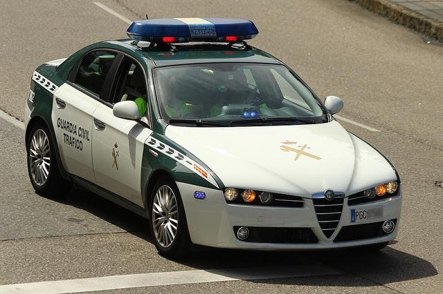 Alfa Romeo 159 Guardi Civil Trafico