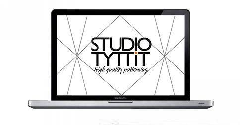 Studio Tytti T verkkosivuston suunnittelu ja toteutus.
