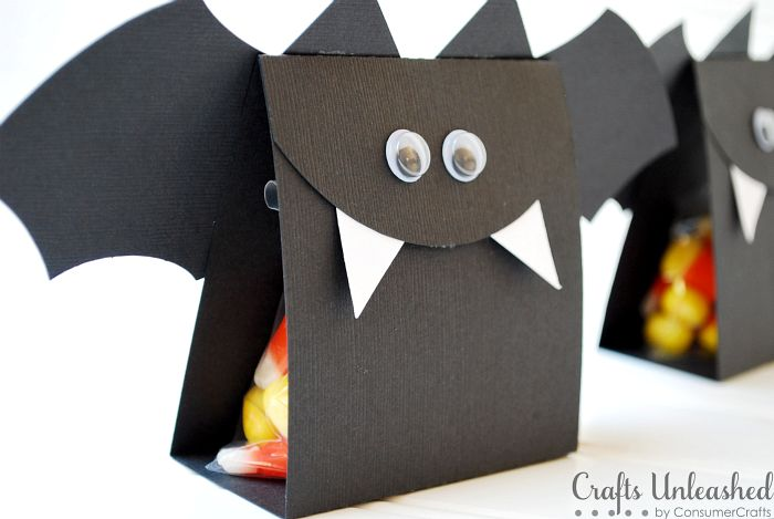Halloween Bat Treat Bags