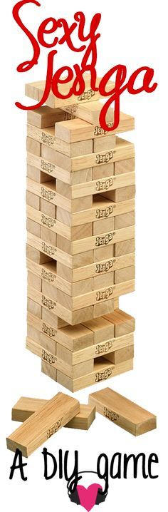 love, elizabethany: diy: how to make a sexy jenga game