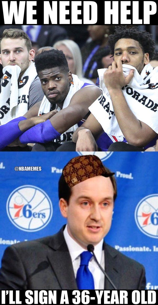 RT @NBAMemes: Elton Brand is the Sixers last hope! - http://nbafunnymeme.com/nba-funny-memes/rt-nbamemes-elton-brand-is-the-sixers-last-hope
