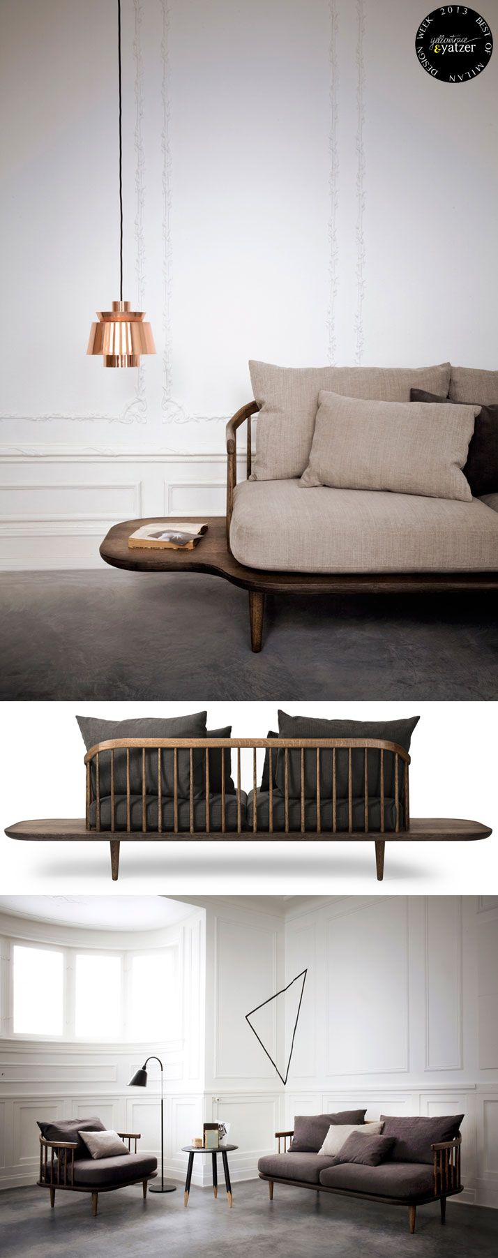 """FLY Lounge Series by SPACE Copenhagen for – named """"Best of Milan Design Week"""" by Yatzer"""