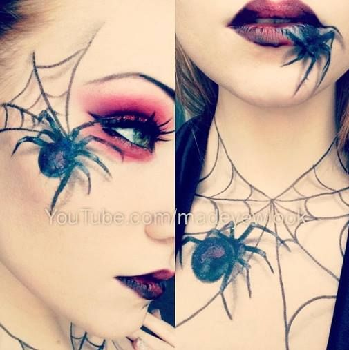 ✝☮✿★ MAKEUP SPIDER WEB ✝☯★☮