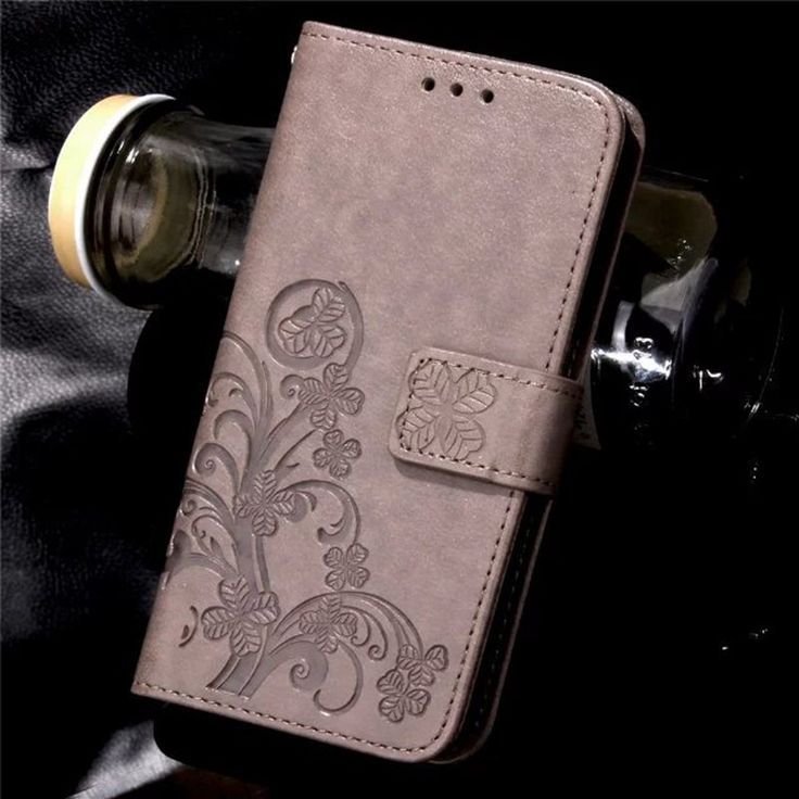 Four Leaf Clover Case for Huawei P9 Cover Huawei P9 Lite Flip Wallet Case for Huawei. Click visit to buy #WalletCase #Case