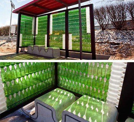 újrahasznosított bútorok