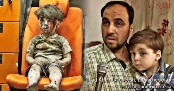 Father of Famous Aleppo Boy Just Exposed How the US & White Helmets Lied to the World #news #alternativenews