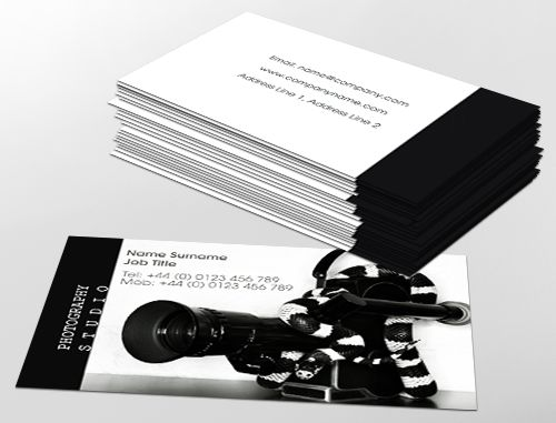 7 best business cards mca images on pinterest carte de visite contemporary business card design ideal for independent photographers customise a range of business card reheart Choice Image