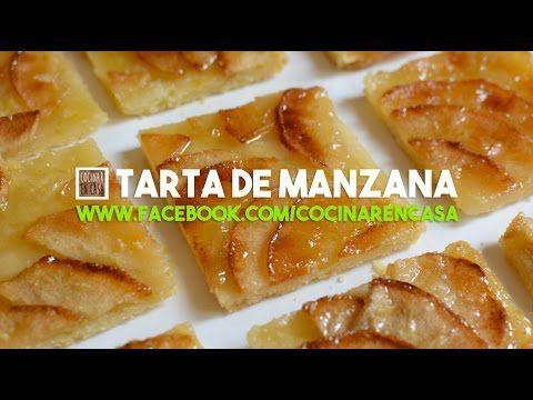 Tarta de Manzana | Video receta fácil de preparar para cocinar en casa todos los días