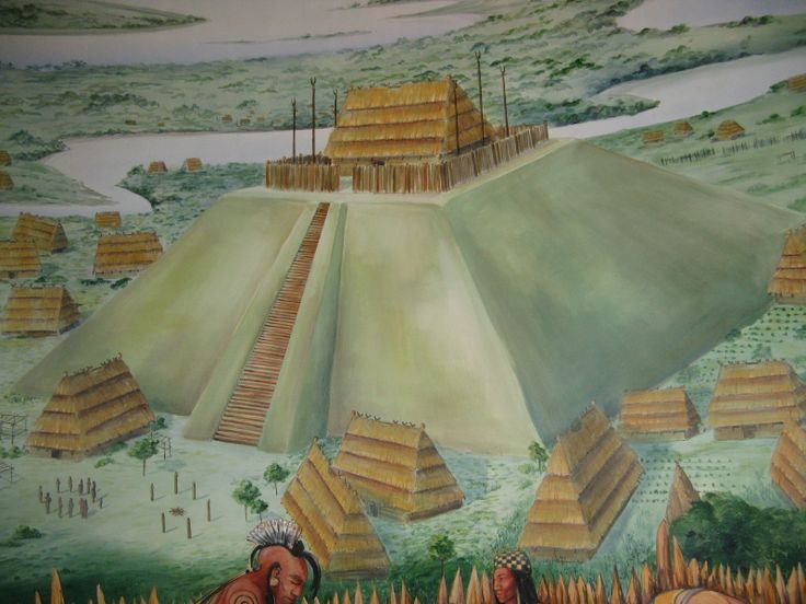 Cherokee Indian Culture | pyramids were part of cherokee indian culture here in north america a ...