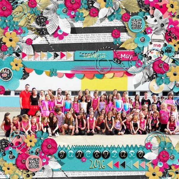 End of the year of Danceschool
