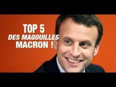 TOP 5 DES MAGOUILLES D'EMMANUEL MACRON. LA 1ERE COUTE UNE FORTUNE - YouTube