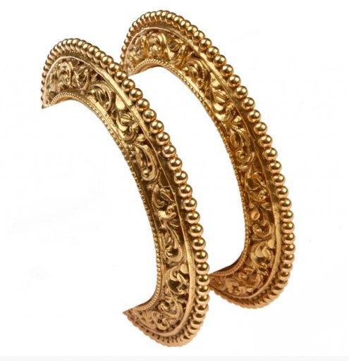 Gold Kangans