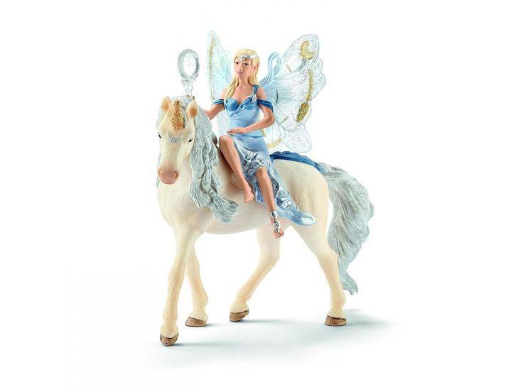 Schleich - Figurine Lunaja - 8,2 cm x 15 cm x 18 cm #schleich #figures #lunaja #licorne #decoration