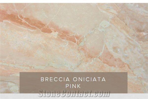 Breccia Oniciata Pink In 2020 Pink Master Bath Picture Sizes