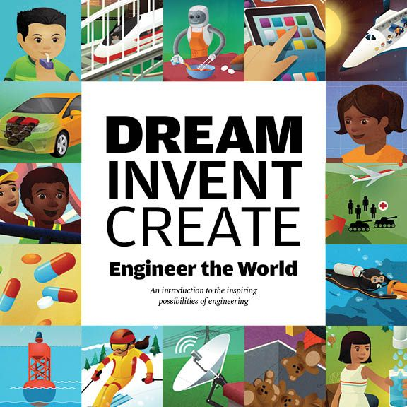 World Stem School: Dream Invent Create: Engineer The World. Inspiring Library