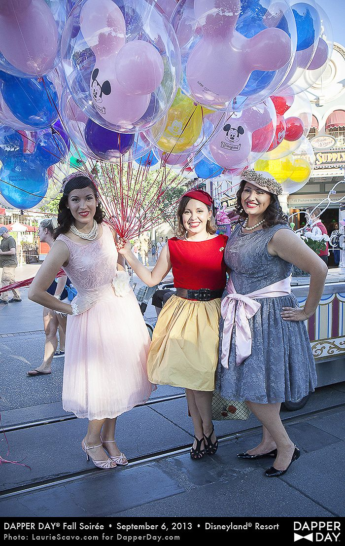 Bucketlist: Dress up for Dapper Day at Disneyland. I've been on dapper day and it's so awesome :-D