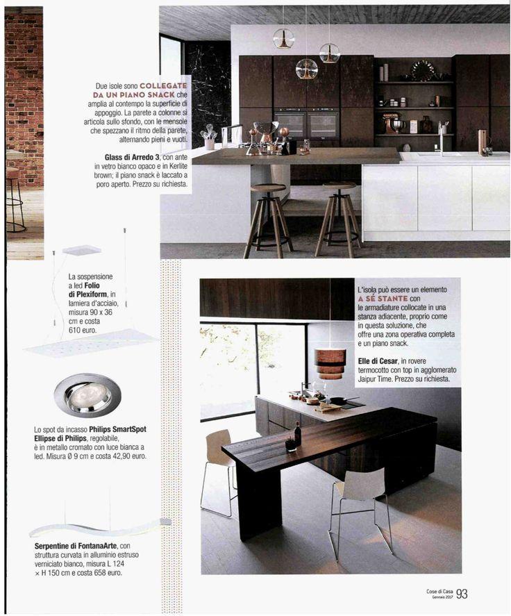 Cose di casa magazine, Folio lamp by Plexiform