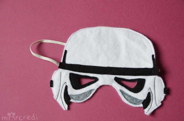 DIY: le masque de Stormtrooper en feutrine