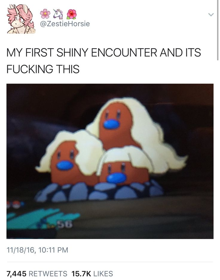 RIP. Mine was like metapod on route 5 this game has sick shiny rates