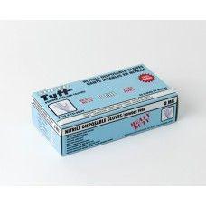 T15I-800PF(L) Super Tuff Blue Disposable Nitrile Gloves