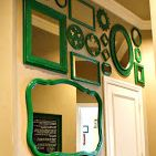 Make a collage of mirrors - plus tons of other creative DIY feature wall ideas!