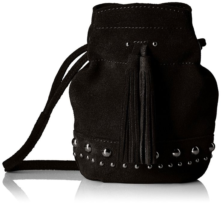 Mini Crossbody Bags That Won't Hold You Back This Weekend - Kirby Mini Studded Suede Bucket Crossbody from InStyle.com