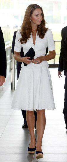Kate Middleton - I love white dresses